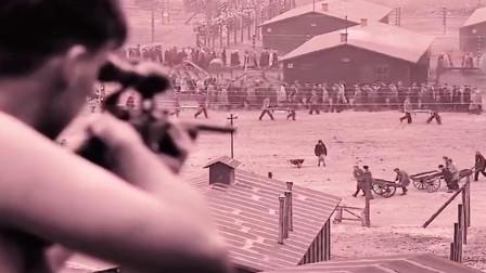 犹太人在劳动改造,纳粹却拿他们练枪法