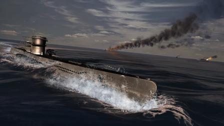【欧战天空】猎杀潜航4远东U艇作战记第十七期 雨中寻声