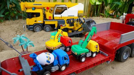 最新挖掘机工程车表演怎么也想不到