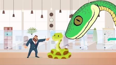 城里毒蛇多还是无毒蛇多?动物科普英语学习