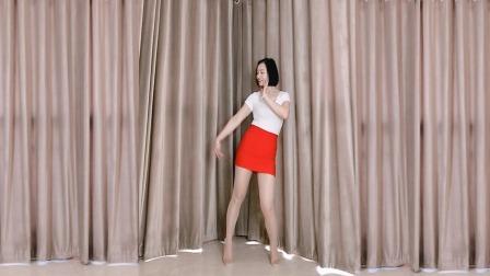 无特效舞蹈秀《姑娘等我在天桥》好听醉了初级32步谁跳谁喜欢