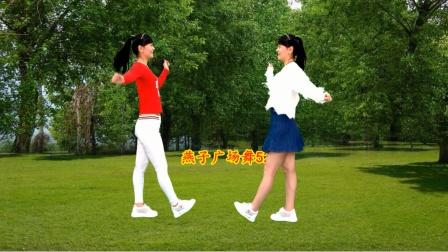 10步对跳广场舞《零度桑巴》快乐的网红步,炸起来吧