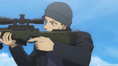 """泪目!《名侦探柯南:绯色的子弹》发布终极预告 新兰生死表白""""守护你"""""""