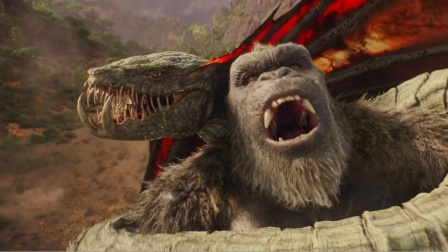 再凶猛的怪兽在金刚面前也只是一盘开胃菜