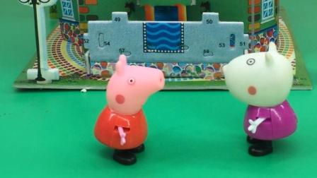佩奇和小羊苏西塑料姐妹情,又在拌嘴了