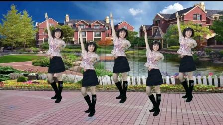 美久广场舞《忘川的河》动感水兵舞,帅气迷人,表演:四川秀秀