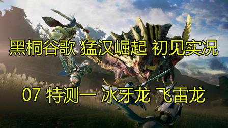 黑桐谷歌【怪物猎人 崛起】开荒实况 07特测任务 冰牙龙 飞雷龙