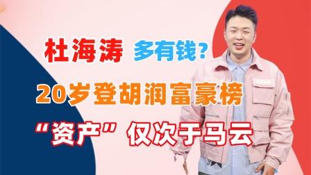 """杜海涛才是隐形富豪?身价数亿登胡润富豪榜,""""资产""""仅此于马云"""