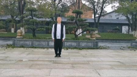 桐乡吕银根老师,陈氏太极拳王西安拳法