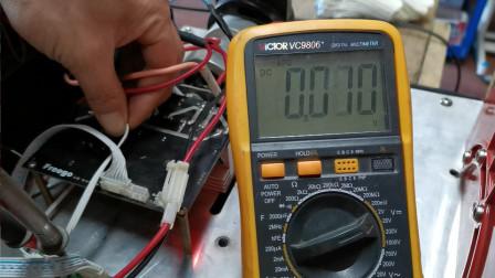 改锂电池的平衡车已经修好了!可以愉快地玩耍了