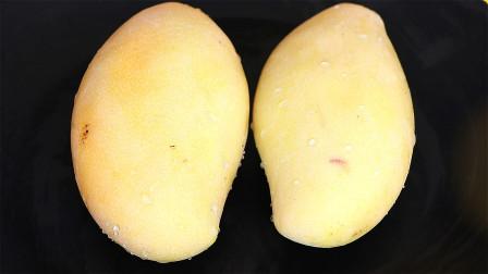 肚子赘肉多,皮肤暗黄,气色差的朋友这样吃芒果,越吃越瘦越漂亮