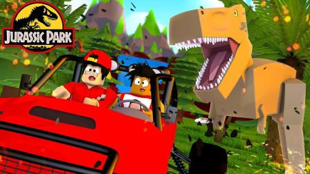 ROBLOX侏罗纪公园大亨:克隆技术建造恐龙公园!面面解说