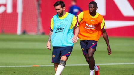 足球训练丨职业球员训练:梅西训练