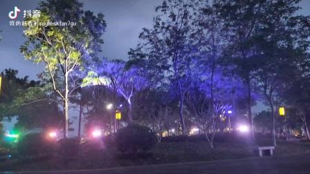 清远市的城市夜景真是太美了!