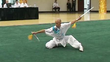 第二届世界传统武术节套路精选 013 男子双剑