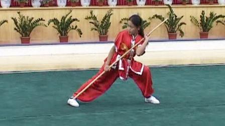 第二届世界传统武术节套路精选 015 女子棍术