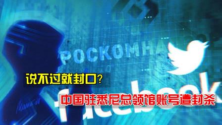 诉说真相后,中国驻悉尼总领馆账号遭封杀,专家:不是第一次了