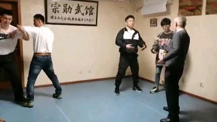 意拳姚承光老师讲授平步休息桩练习要点(邯郸意拳赵志勇)