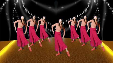 简单舞一舞,轻柔广场舞《卷珠帘》