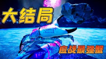 螃蟹大战大结局:迎战最强蟹,大招满天飞,最终引来星空穿梭