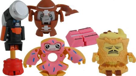 可爱小玩偶变形机器人