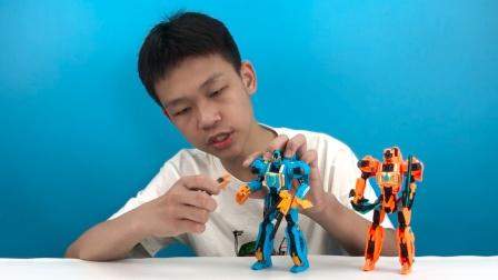 钢铁飞龙变形机器人恐龙益智好玩