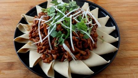 原来京酱肉丝是如此做的,教你正确做法,酱香浓郁,营养美味好吃