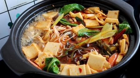 砂锅米线如何做才好吃,原来在家做那样简单,学会不用出去吃了
