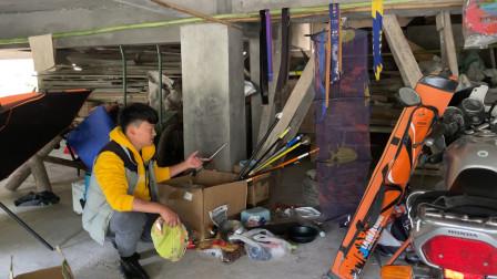 自从学会钓鱼,地下室堆满了钓鱼装备,入大坑了