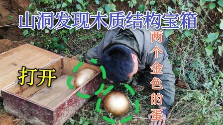 大山深处发现山洞,进入山洞发现金蛋