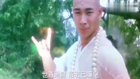 大威天龙火了,赵文卓版最帅法海,这手指动作是怎么琢磨出来的!