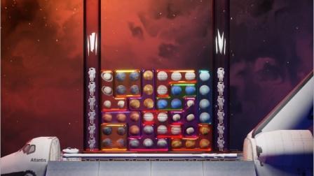 MC动画:星球果冻俄罗斯方块游戏
