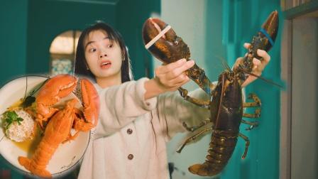 480元一只波士顿龙虾煮泡面是什么体验?鲜味十足,名不虚传