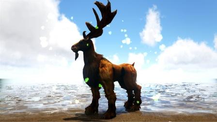 强壮的鹿力大仙 霸王龙都不是它对手