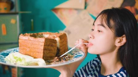 爆浆神仙美味——流心西多士,浓郁奶香的内馅,不要太满足