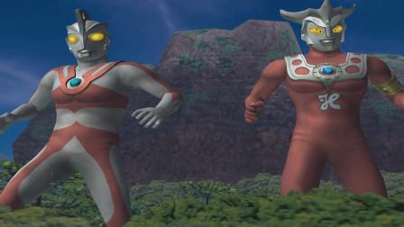 奥特曼格斗进化:艾斯与雷欧携手对敌,对付敌人手段极其残忍