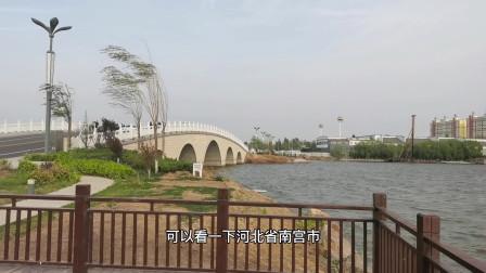 五一不知道去哪里?可以来河北省南宫市群英湖,蓝天碧水真是美哉