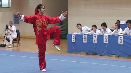 2006年全国青少年武术套路锦标赛 女子太极拳 06 庄莹莹
