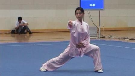 2006年全国青少年武术套路锦标赛 女子太极拳 07 孙莉