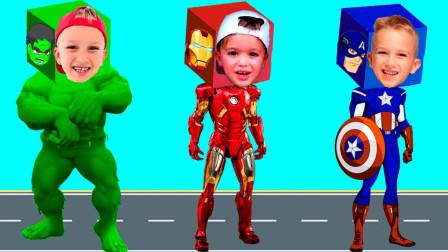 超级英雄游戏:超级英雄变身