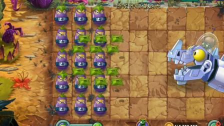 植物大战僵尸:1阶茄子忍者挑战终极关卡,结果你确定能猜对吗?