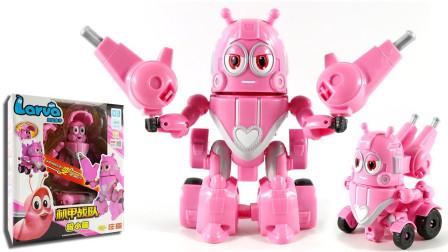 爆笑虫子机甲战队变形玩具 超可爱的小萌!