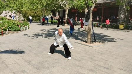 八卦掌与三角步技击法——刘志平(精平)72岁