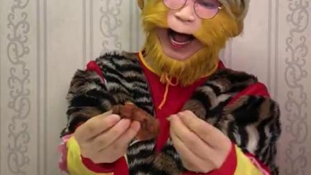 童年趣事:鸡翅被妈妈吃光了,我太难了