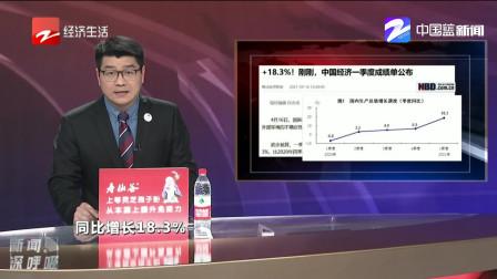 +18.3%! 中国经济一季度成绩单公布