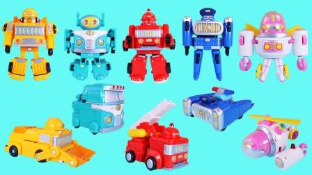星际家族安全少年团变形玩具