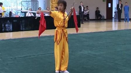 第二届世界传统武术节套路精选 018 女子双钩