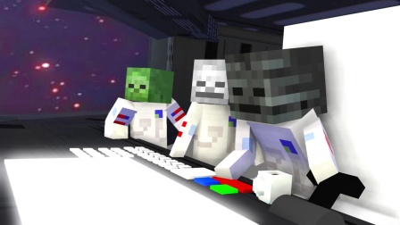 MC动画:怪物们太空旅行