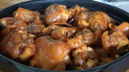 猪蹄简单又美味的家常做法,不炒糖色,炖出来软烂脱骨,入口即化