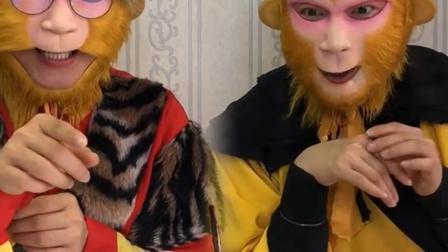 童年趣事:你俩猴子这样分梨吃,可不好呀